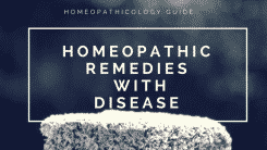 Homeopathic Medicines List with Disease