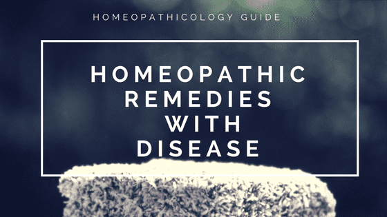 Homeopathic Medicines List with Disease​