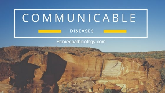 Communicable Diseases List - Homeopathic Cure