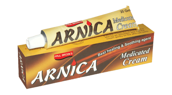Arnica Homeopathic Cream for Skin Care