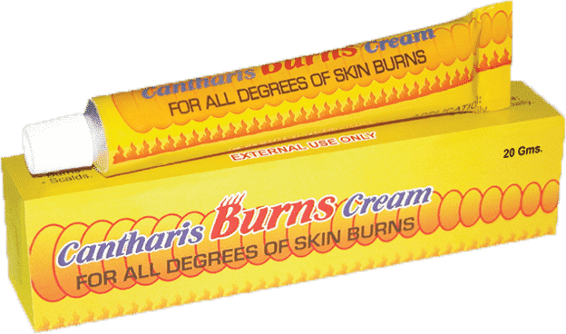 Brooks Cantharis Burn Homeopathic Cream for Sking Care