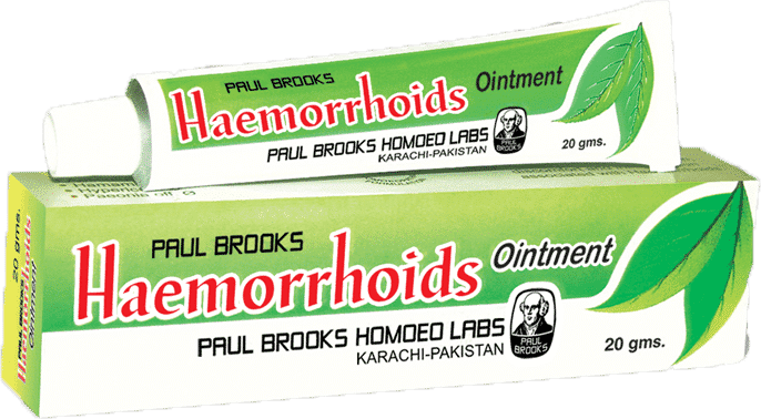 Brooks Haemorrhoids Homeopathic Cream for Sking Care