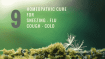 Homeopathic Medicine For Cough, Cold, Sneezing and Flu