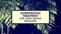 Homeopathic treatment for High Blood Pressure