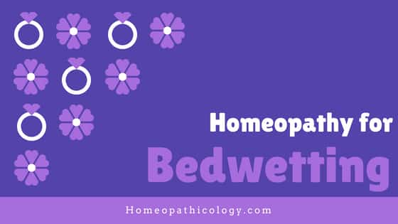 Homeopathic Treatment For Bedwetting