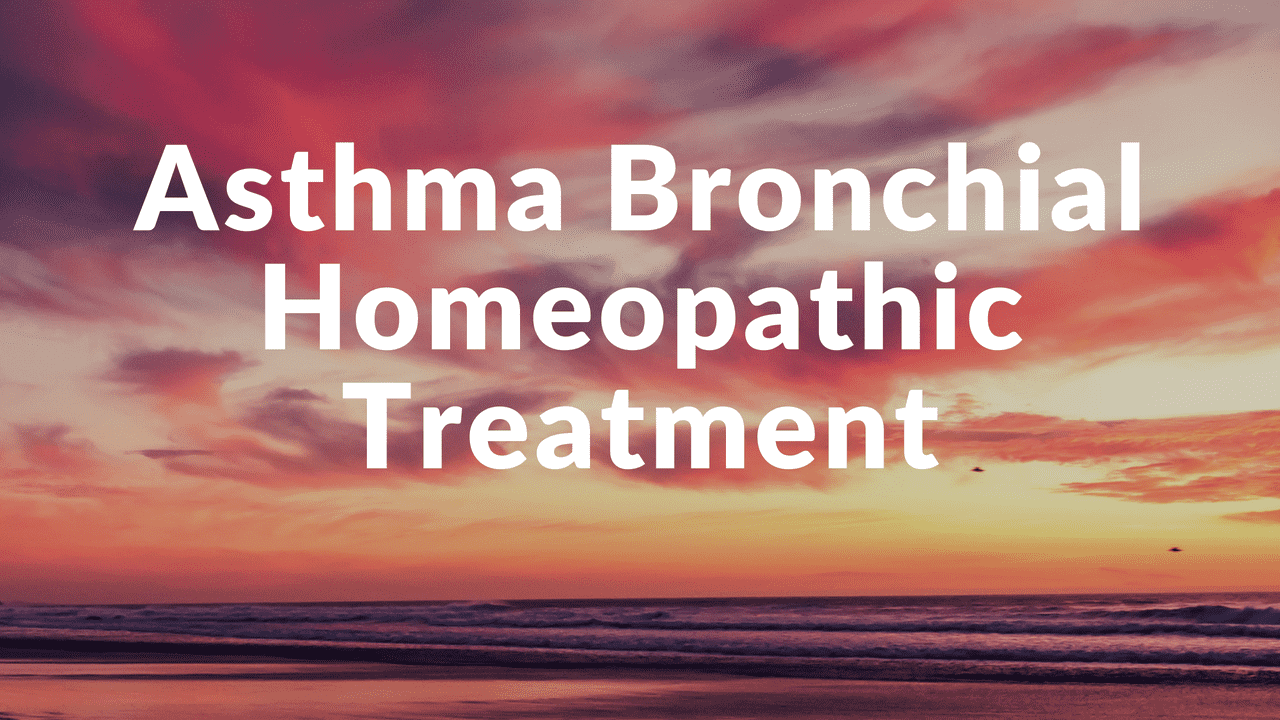 Homeopathy for Asthma Bronchial