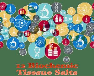 12 biochemic Homeopathic Tissue Salts