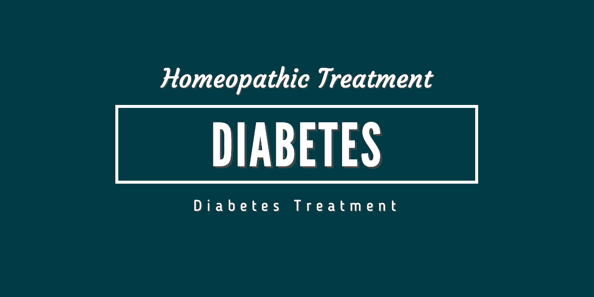 Diabetes Homeopathic Treatment