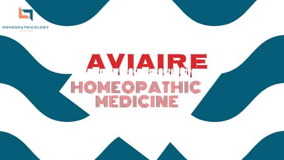 Aviare homeopathic medicine